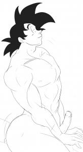 Goku humping