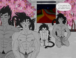 Raditz goes to Temple