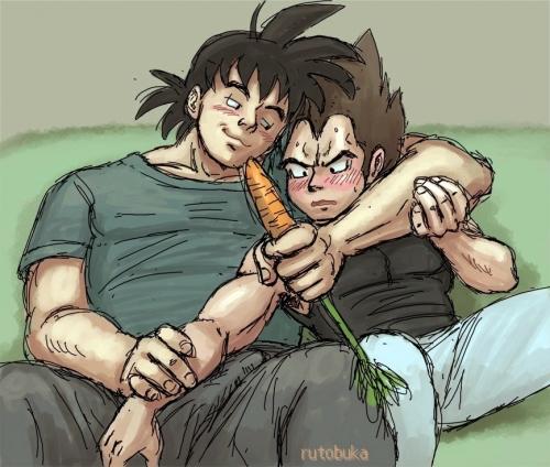 """""""Carrot Goku?"""" said Vegeta"""